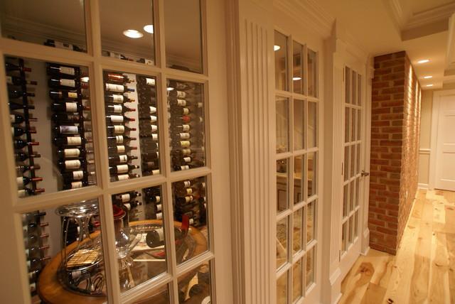 Hamilton, VA Basement Finish traditional-wine-cellar
