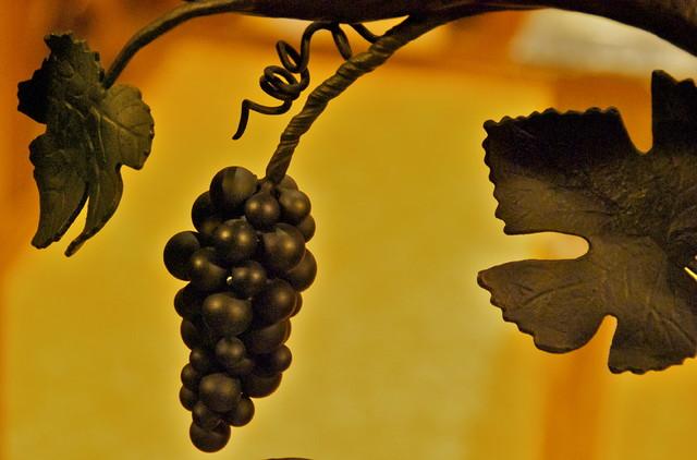 Hand Forged Wine Cellar Door eclectic-wine-cellar