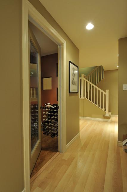 Hanover Basement Reno contemporary-wine-cellar