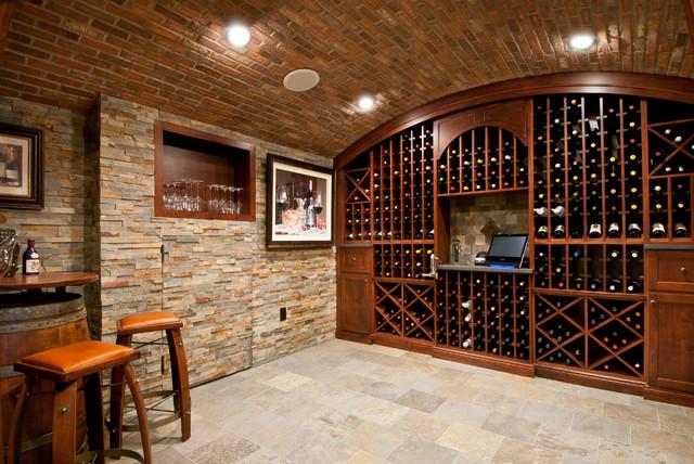 Harleysville PA Wine Cellar mediterranean-wine-cellar & Harleysville PA Wine Cellar - Mediterranean - Wine Cellar ...