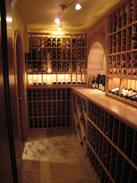 harrell-remodeling contemporary wine cellar