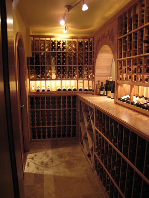 harrell-remodeling contemporary-wine-cellar