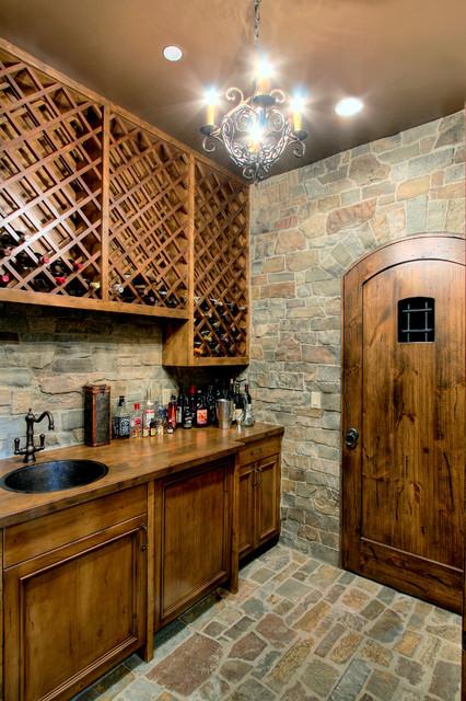 Harrison Street Residence traditional-wine-cellar