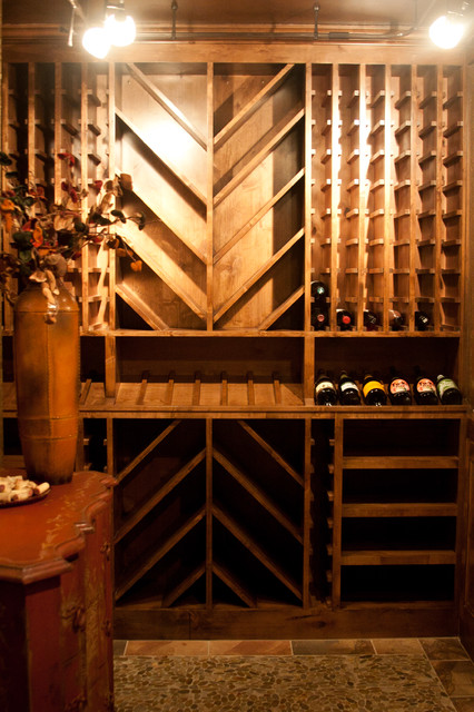 herbert traditional wine cellar kansas city by rak