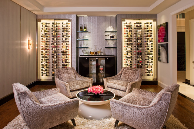 Hidden Hills, CA - Contemporary - Wine Cellar - Los Angeles - by ...