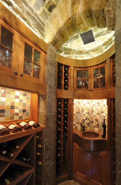 Highland Wine Cellar 2 contemporary-wine-cellar