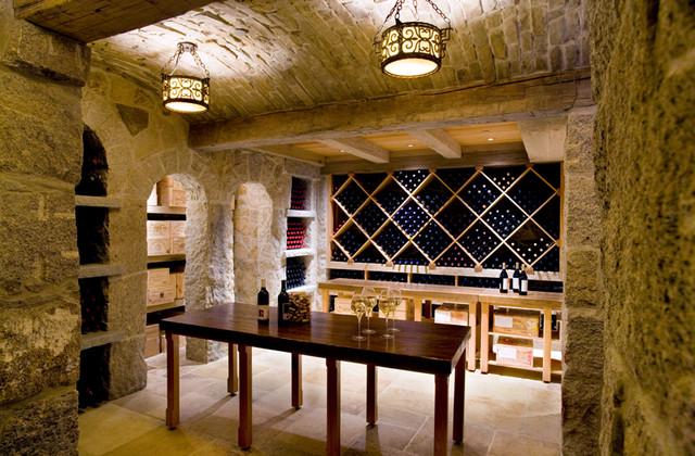 Highland Wine Cellar contemporary-wine-cellar