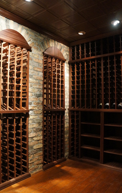 Home front designs modern wine cellar new york by for Home wine cellar design ideas