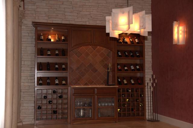 Hornbeck dining Room mediterranean-wine-cellar