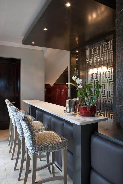 House Brown contemporary-wine-cellar