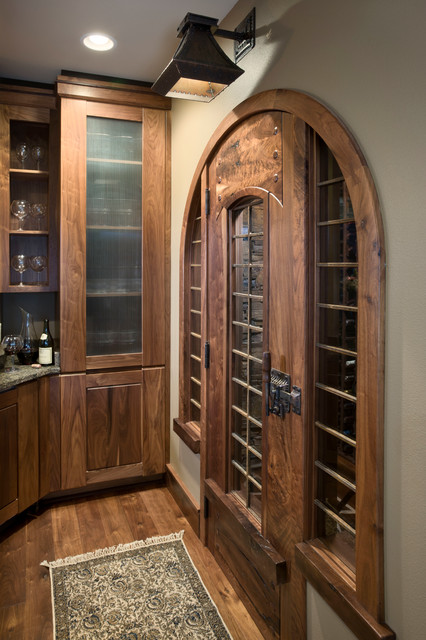 House on the Green rustic-wine-cellar