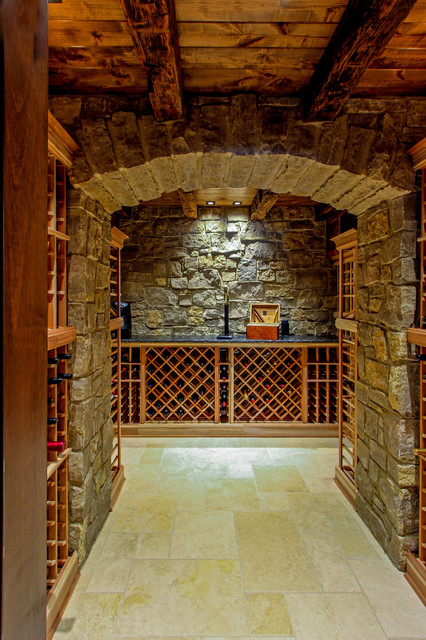 Indian Hill traditional-wine-cellar & Indian Hill - Traditional - Wine Cellar - Cincinnati - by Cedar Hill ...
