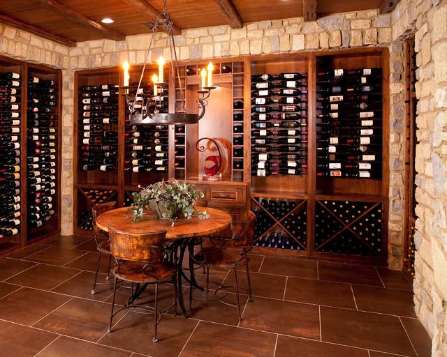 Indian Hill Ohio Traditional Wine Cellar Cincinnati By W V De Stefano Homes Llc