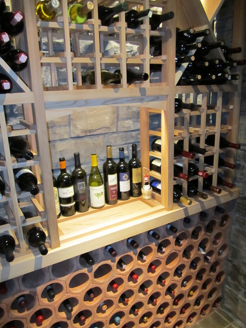 JWS Woodworking and Design Inc. traditional-wine-cellar