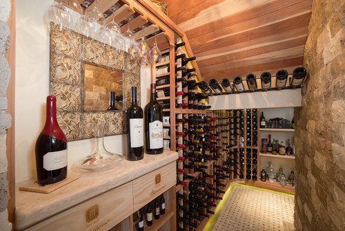 Some Are Choosing To Create Entire Above Ground Wine Rooms Complete With Temperature Controls