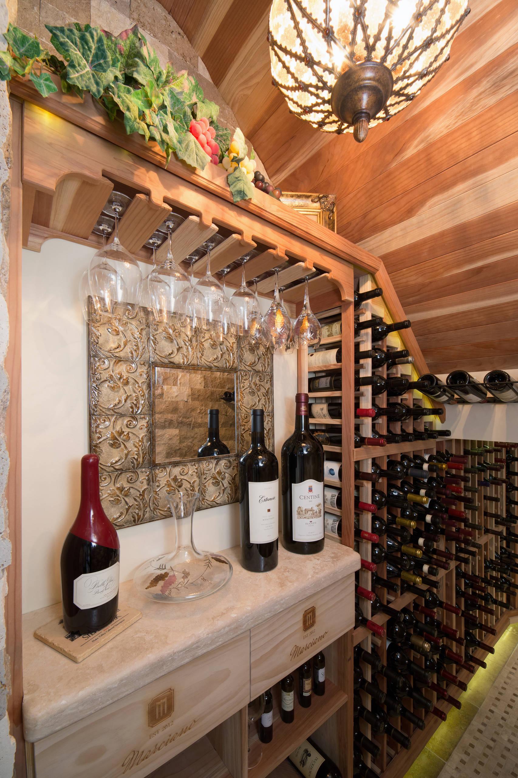Under Stairs Wine Cellar Houzz