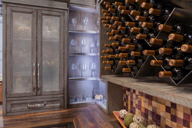 KBIS 2015 - Wine Room rustic-wine-cellar