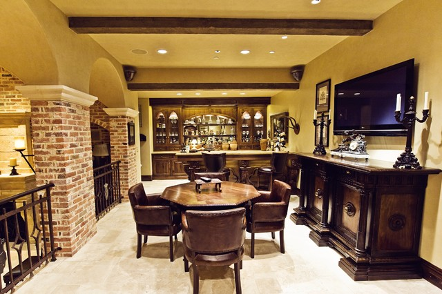 kelley hall traditional wine cellar