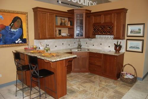 Kitchen Cabinets Wolfe Kemper Echo Wellborn Forest