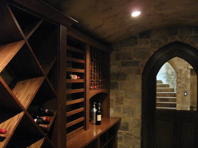 Kessick Wine Cellars traditional-wine-cellar