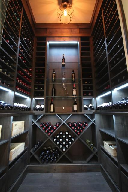 Kitchen Cellar Modern Wine Cellar Ottawa By