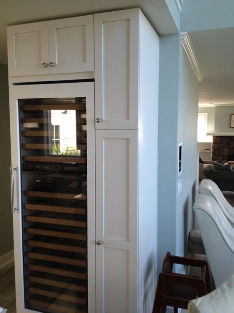 Kitchen Design traditional-wine-cellar
