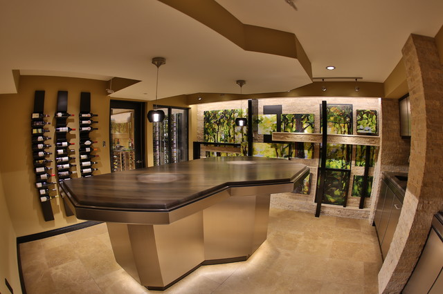 Kitchener Residential Wine Cellar Contemporary Wine Cellar