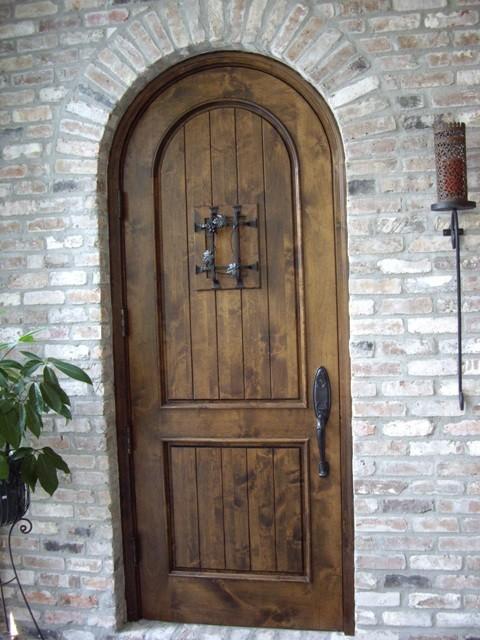 Knotty Alder Custom Wine Cellar Door La In An Early
