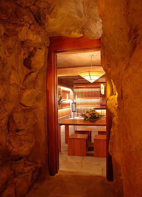 Kuikawa 3 tropical wine cellar hawaii by gm for Cost to build a wine cellar