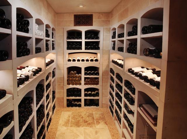 La Cave TimothyJohn traditional-wine-cellar