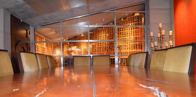 La Jolla Del Mar Large Custom Wine Cellar Walk In With