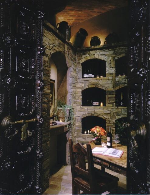 Lacewood mediterranean-wine-cellar