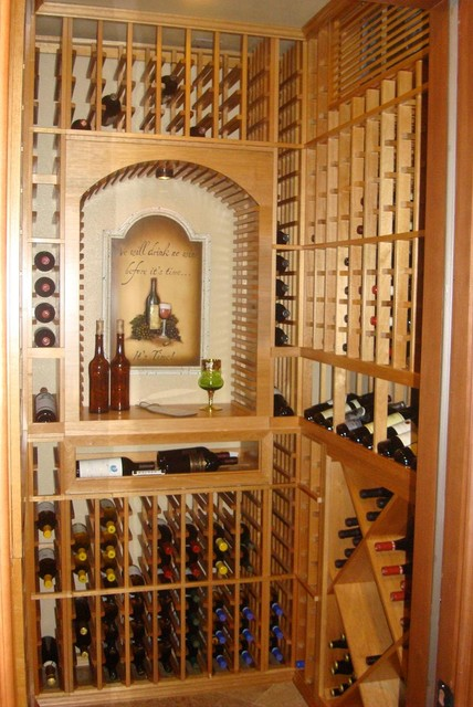 Laguna Hills Wine Cellar Design Ca After Traditional