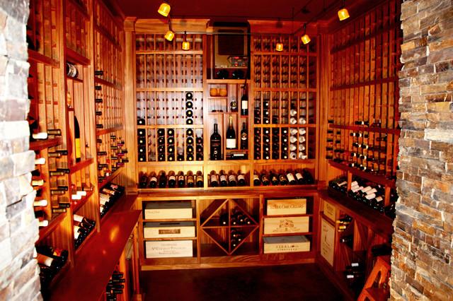 Lake Washington New Home wine-cellar