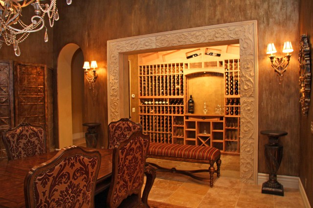 Landmark Builders wine-cellar