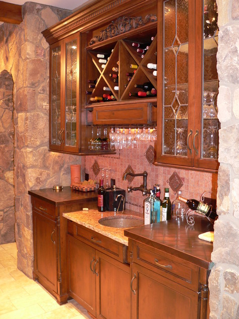 Lask Project eclectic wine cellar