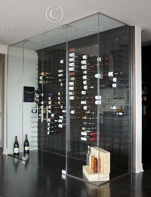 Lofts contemporary-wine-cellar