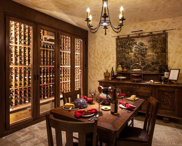 Los Altos Hills Remodel - Traditional - Wine Cellar - san francisco - by Avalon Enterprises Inc
