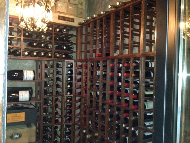 Lower level Spaces traditional-wine-cellar
