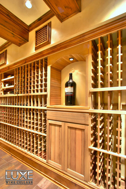 Luxe Wine Cellars - 4638 bottle cellar traditional-wine-cellar