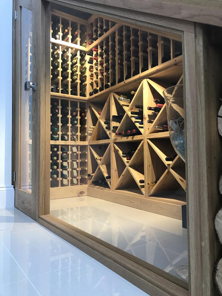 Luxury Under Stairs Wine Cellar In Modern Private Home