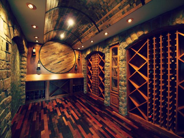Luxury Wine Cellars By Timber Ridge Properties