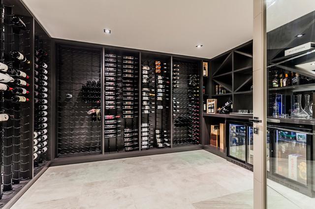 Luxus Homes - Dalkeith contemporary-wine-cellar & Luxus Homes - Dalkeith - Contemporary - Wine Cellar - Perth - by ...