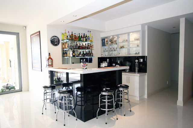 Lysterfield Project modern-wine-cellar
