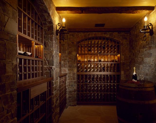 Magnolia - Rustic - Wine Cellar - other metro - by SDG Architecture ...