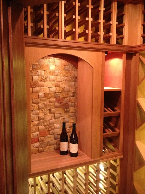 Mahogany Wine Cellar in Ohio traditional-wine-cellar
