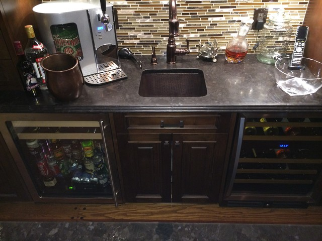 Main Line Custom Bar - Modern - Wine Cellar - philadelphia - by ...