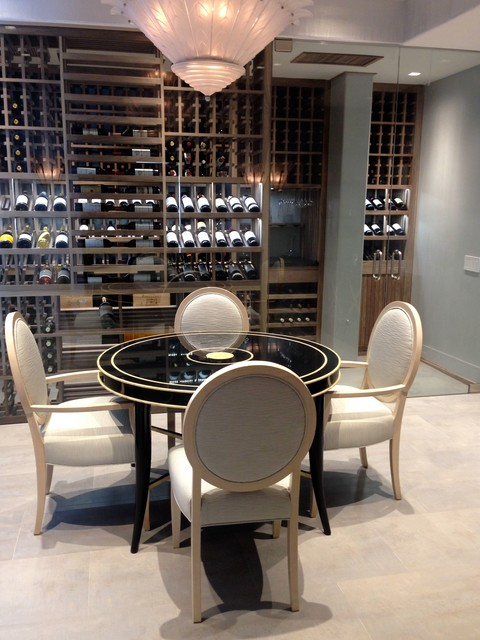 Malibu | Wine Room & Cabinet - Contemporary - Wine Cellar - Other - by Cabinet by Design