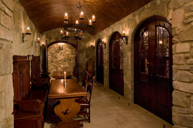 Malinard Manor Wine Cellar Traditional Wine Cellar