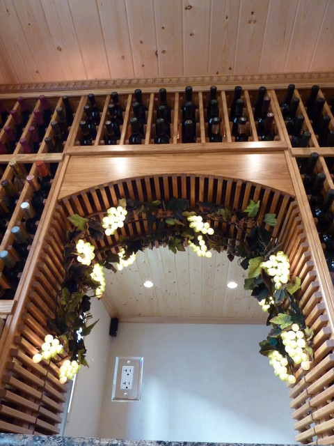 Man Cave traditional-wine-cellar